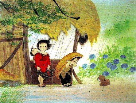 中島潔「雨やどり」・58.9KB