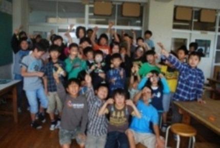 西山台小学校ほうきづくり⑭