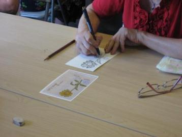 絵手紙教室④