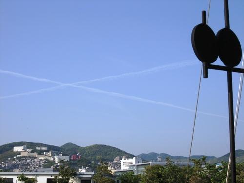 空に十字架①