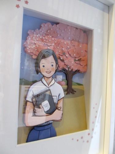 嘉代子桜シャドーボックス