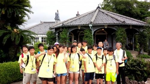 南相馬の子どもたち市内観光 (2)