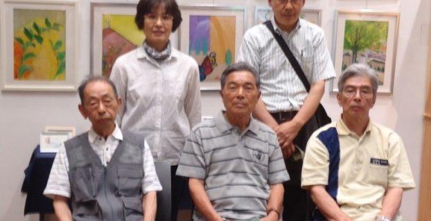 2016/6/22 多彩画展〜絵の好きな仲間たちの作品展開催中
