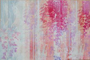 山本早苗・木版画「縷縷Ⅱ」(64×96.5cm)・150KB・