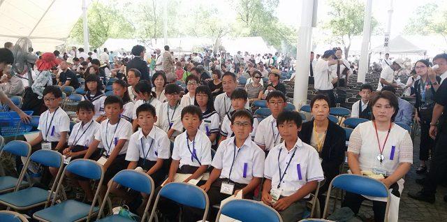 2018/8/9 南相馬の子どもたち⑦・平和記念式典