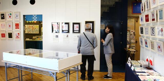 2021/4/27  日本・ポーランド国交樹立100周年 記念切手原画展